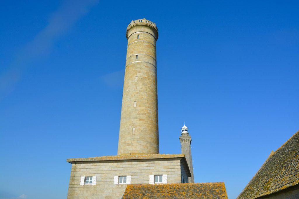 Le phare d'Eckmühl à Penmarc'h dans le Finistère